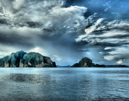 Thailand - Islands off Phuket (HDR Image)